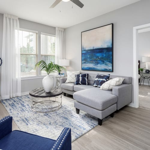 View virtual tour for 2 bedroom 2 bathroom unit at Elevate at Brighton Park in Summerville, South Carolina
