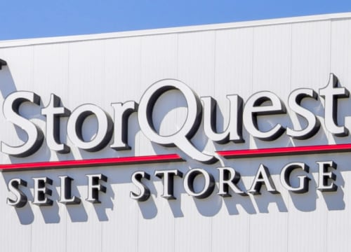Front view of StorQuest Self Storage in Richmond, California