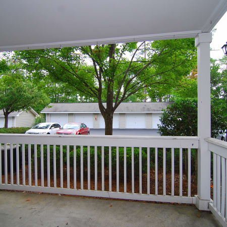 patio at Huntington Place