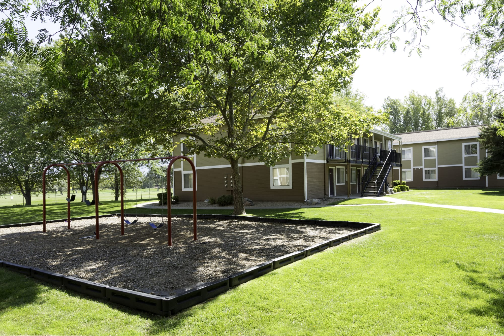 playground and exterior area