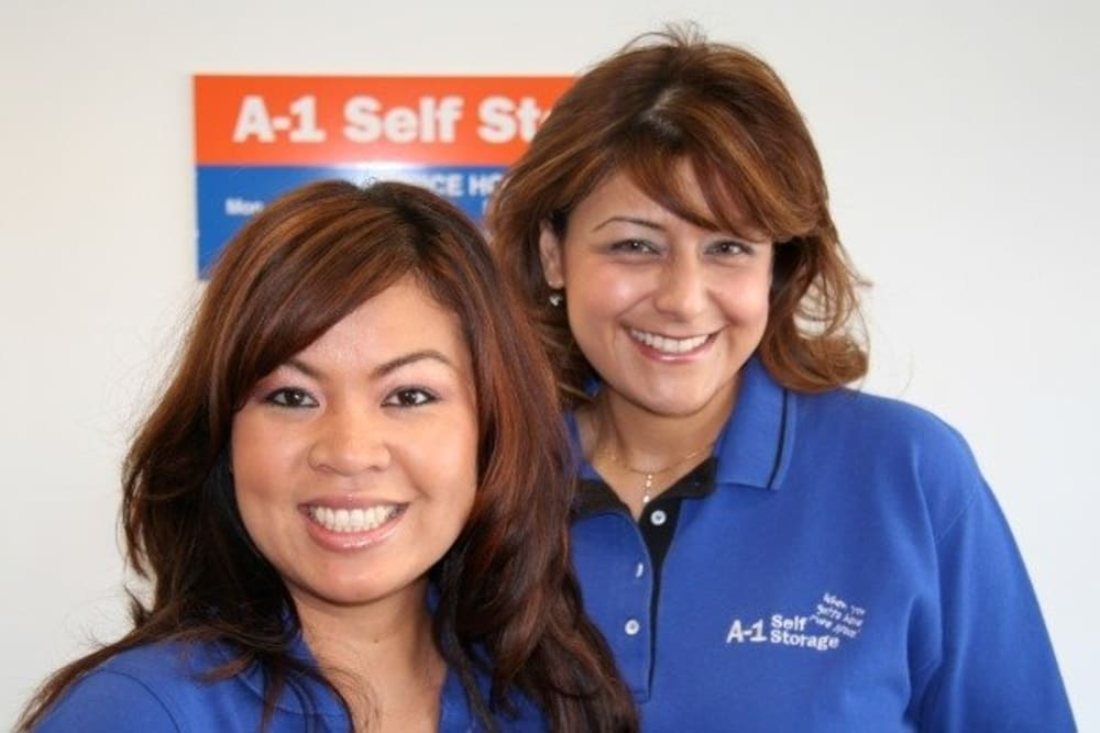 Employees of A-1 Self Storage in San Diego, California