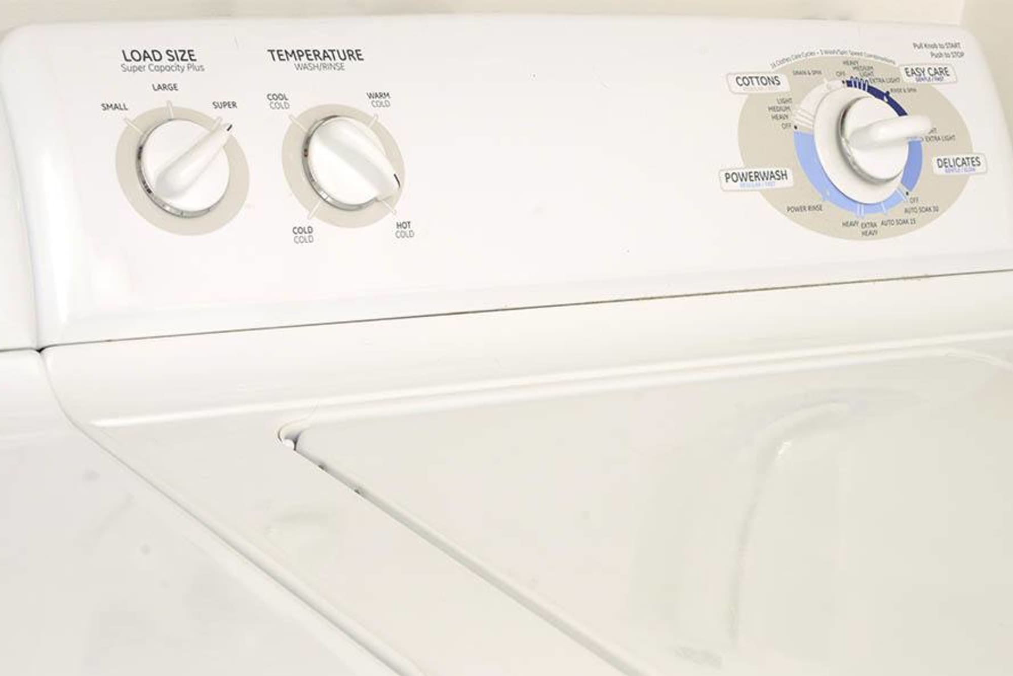 Washer and dryer at Legend Oaks Apartments