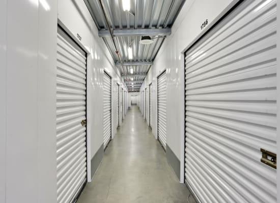 Inside storage at A-1 Self Storage in San Diego, California