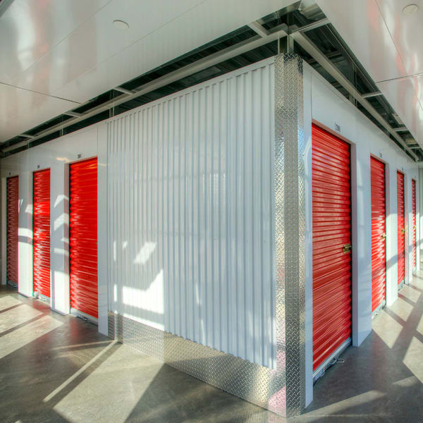 Climate controlled indoor storage units at StorQuest Self Storage in Scottsdale, Arizona