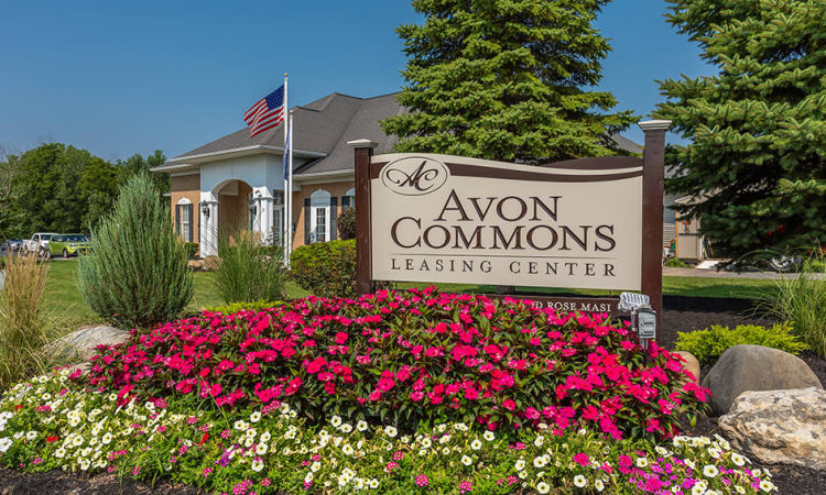 Avon Commons clubhouse in Avon, NY