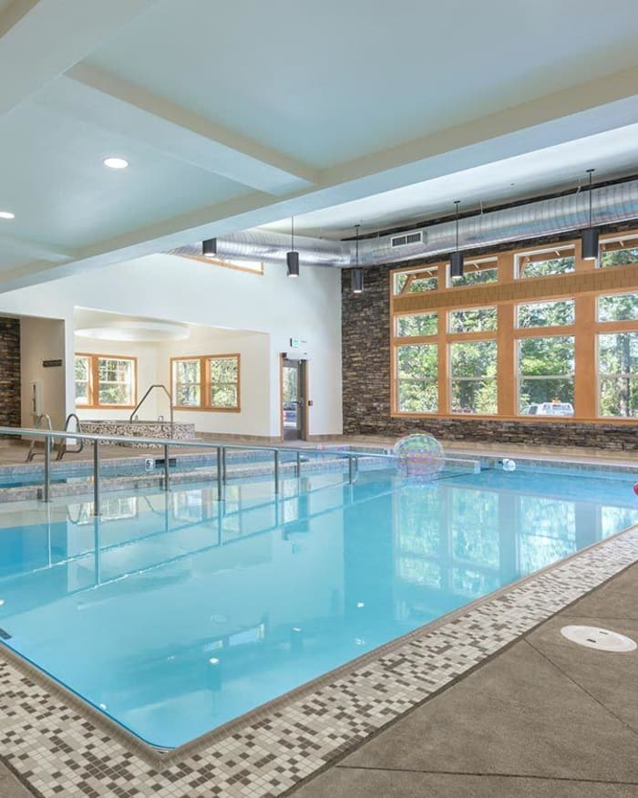 Heated Indoor Pool at The Springs at Greer Gardens in Eugene, Oregon