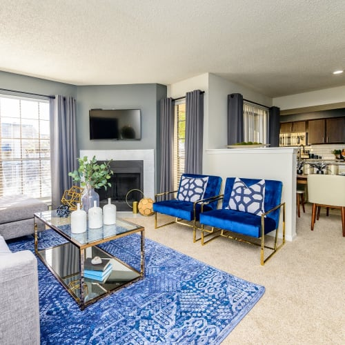 View virtual tour for 2 bedroom 2 bathroom home at Laurel Heights at Cityview in Fort Worth, Texas