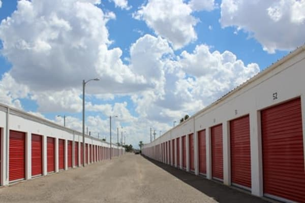 Self storage units for rent at Trojan Storage in Tucson, Arizona