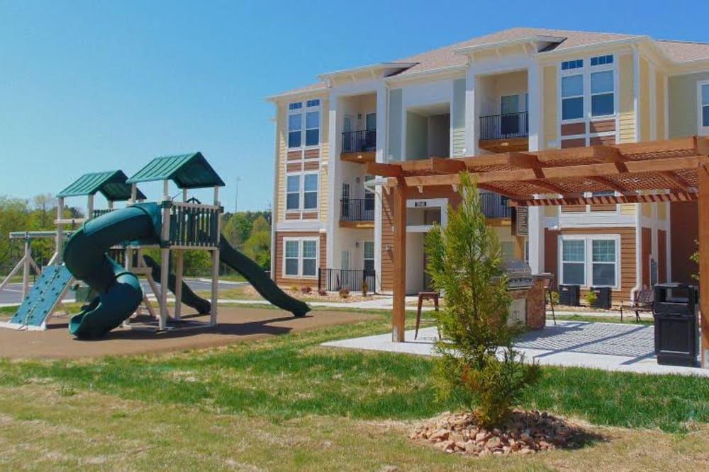 Playground at Watercourse Apartments in Graham, North Carolina