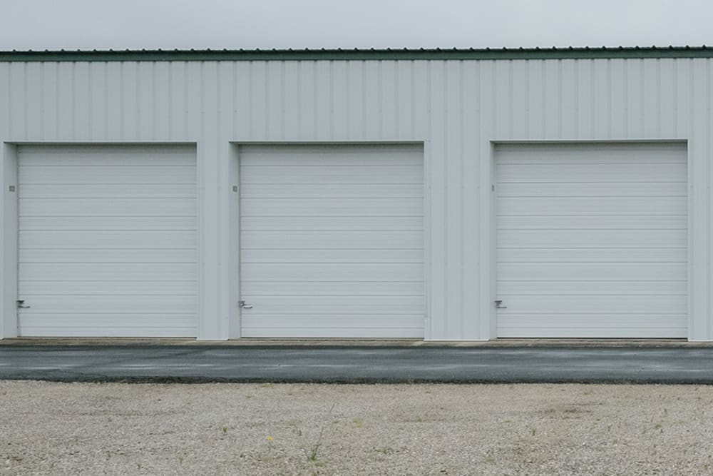 Exterior storage units at StayLock Storage in Muncie, Indiana