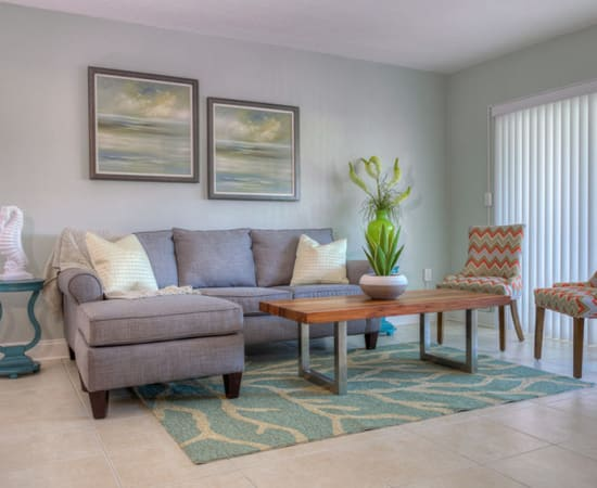 View the floor plans at El Mar in North Redington Beach, Florida