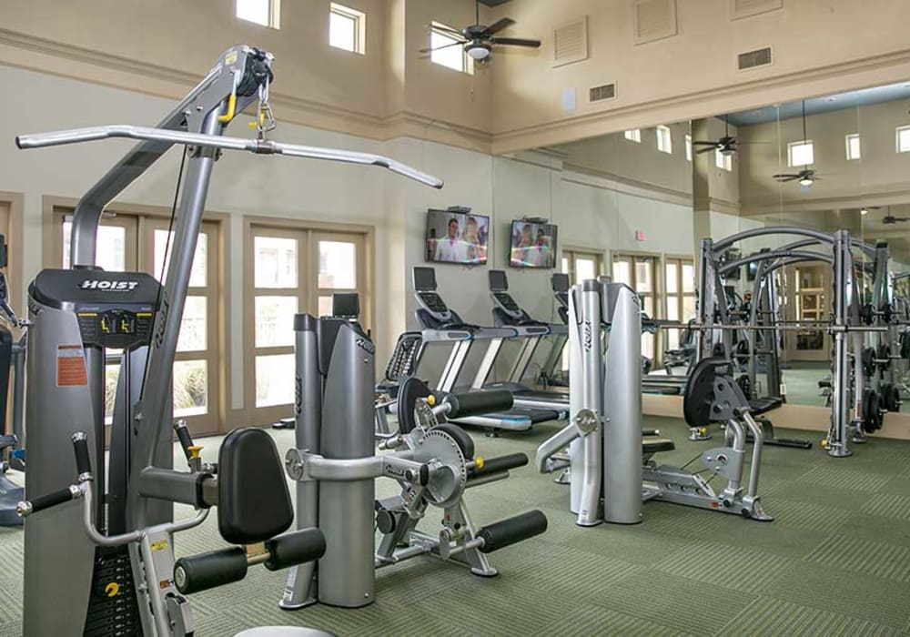 Check out Pecos Flats' fitness center in San Antonio, Texas