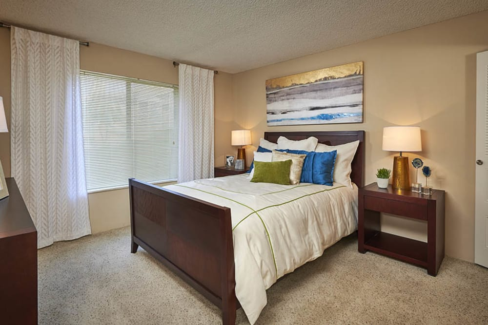 Spacious Bedroom at Alton Green Apartments in Denver, CO