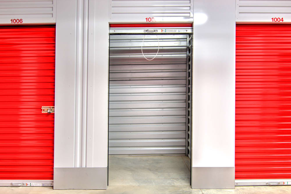 Interior units at Prime Storage in Virginia Beach, VA