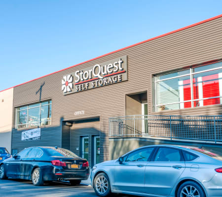 Exterior building at StorQuest Self Storage in Brooklyn, New York
