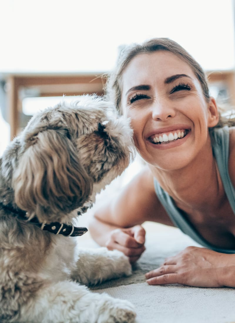 Two pets maximum per apartment at Sabina in Austin, Texas
