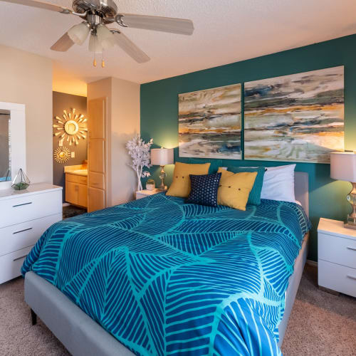 View virtual tour for 1 bedroom 1 bathroom home at Village Green of Bear Creek in Euless, Texas