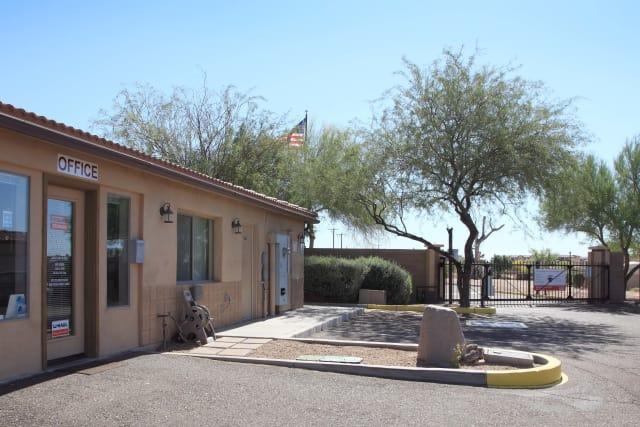 Office entrance at Advantage Storage - Surprise in Surprise, Arizona