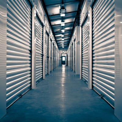 Interior storage space at Towne Storage - Arville in Las Vegas, Nevada