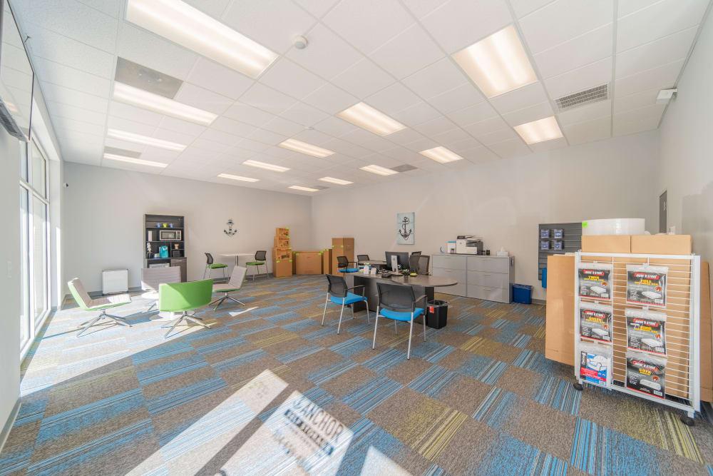 Leasing office at Anchor Self Storage of Huntersville in Huntersville, North Carolina