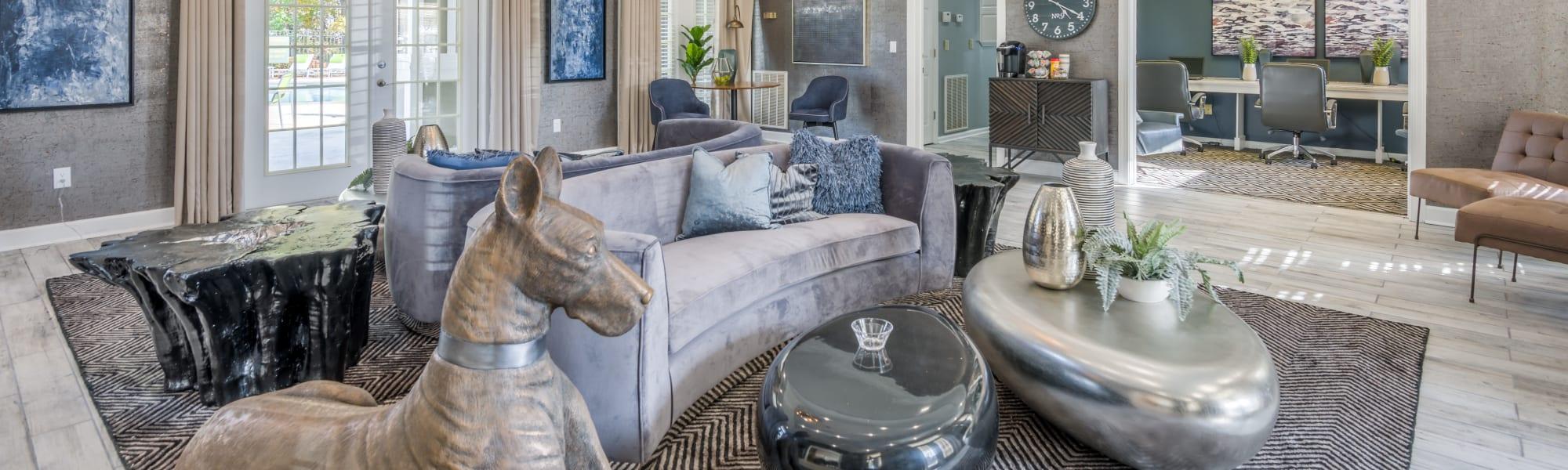 Virtual tours of One Rocky Ridge Apartment Homes in Douglasville, Georgia