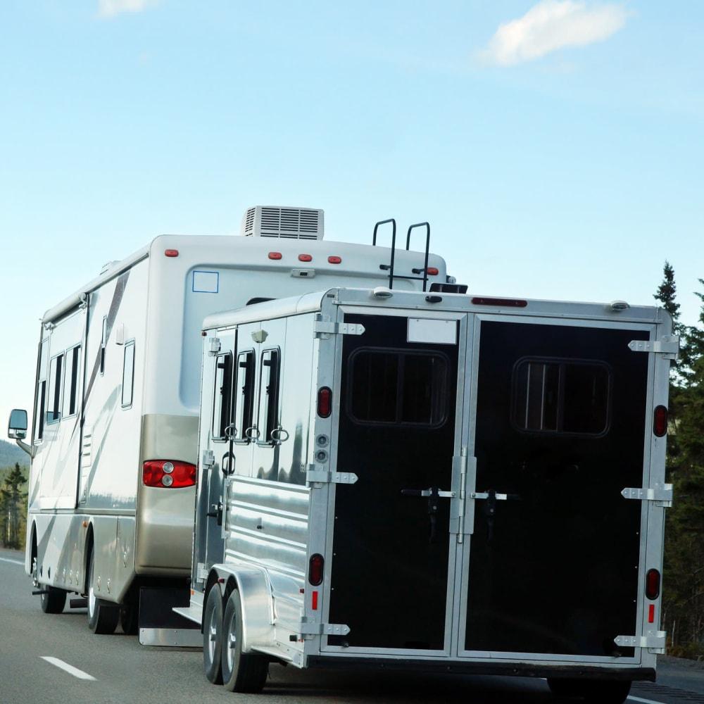 RV storage at ABC Mini Storage in Spokane, Washington