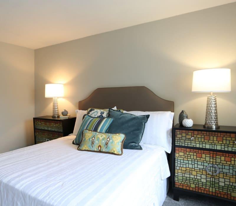 Stunning master bedroom at Worthington Meadows in Columbus, Ohio