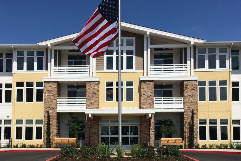 Exterior at Huntington Beach senior living