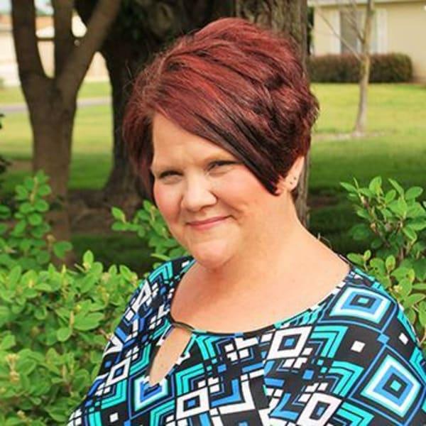 Jennifer K., community administrator at Castle Vista Senior Duplex Community in Atwater, California