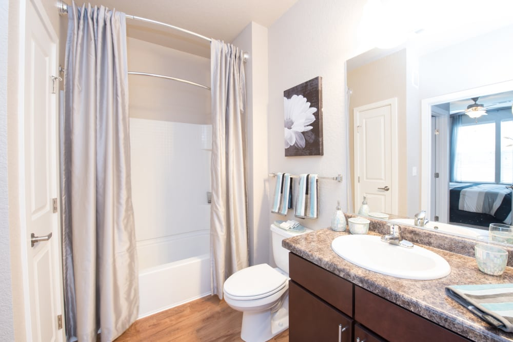Relaxing On-Suite Bathroom at Springs at Weber Road