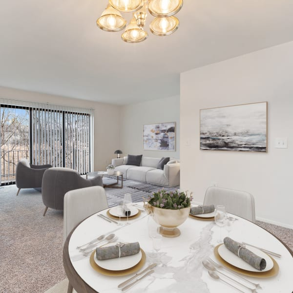 Apartment exteriors at Wexford Townhomes