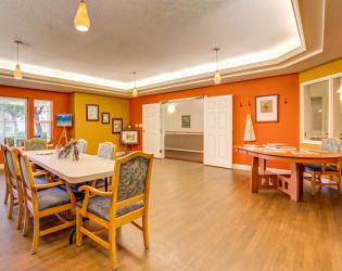 Art studio at Cottonwood Court in Fresno, California
