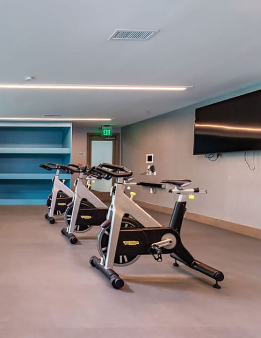 View amenities at Central Station on Orange in Orlando, Florida