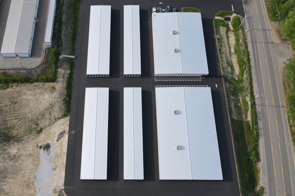 An overhead view of 603 Storage - Lee in Lee, New Hampshire