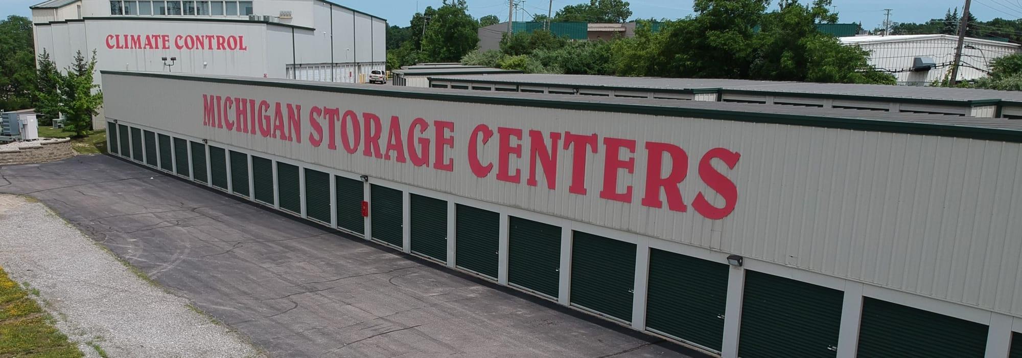 Michigan Storage Centers in Farmington Hills, Michigan