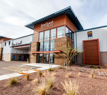 Exterior building at StorQuest Self Storage in Buckeye, Arizona