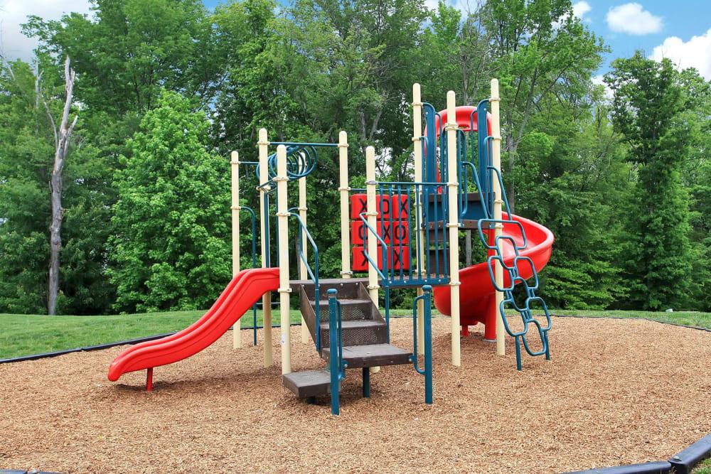 Playground at townhomes in Fredericksburg