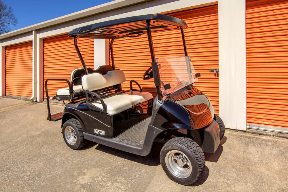 Prime Storage manager cart in Acworth, Georgia