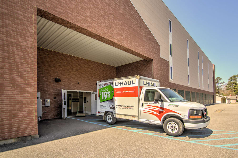 Unloading Zone At Williamsburg Storage In Williamsburg, VA