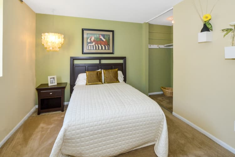 Main Street Apartment Homes offers a bedroom in Lansdale, PA
