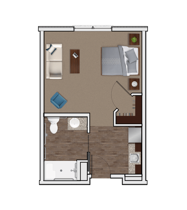 Assisted Living Designer Suite at Stonecrest of Wildwood
