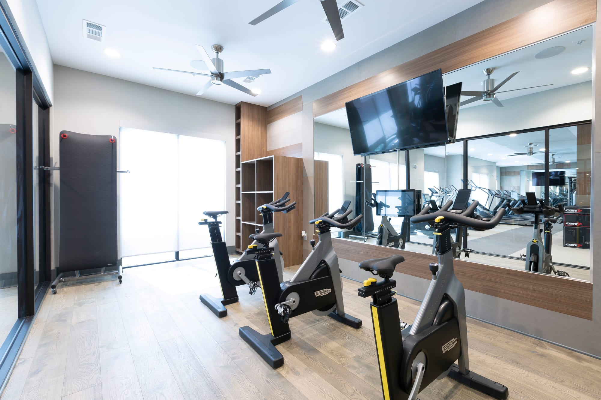 Fitness Center at Alta Trinity Green in Dallas, Texas