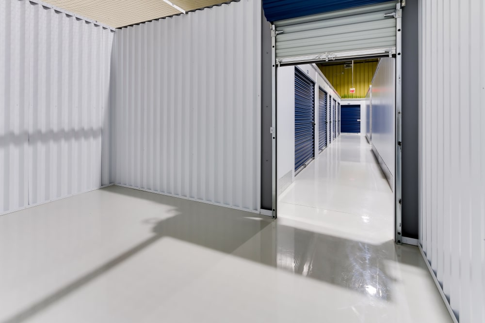 CityBox Storage features interior storage units in Calgary, Alberta