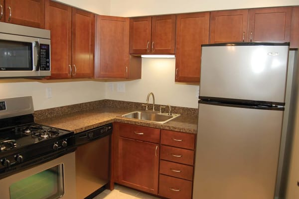 Kitchen at Sherry Lake Apartment Homes in Conshohocken, Pennsylvania