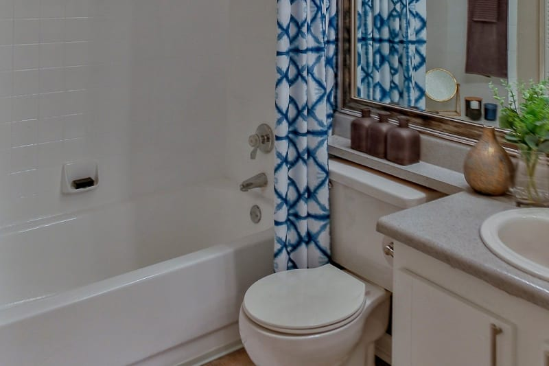 Bathroom in unit at Lyric on Bell in Antioch, Tennessee