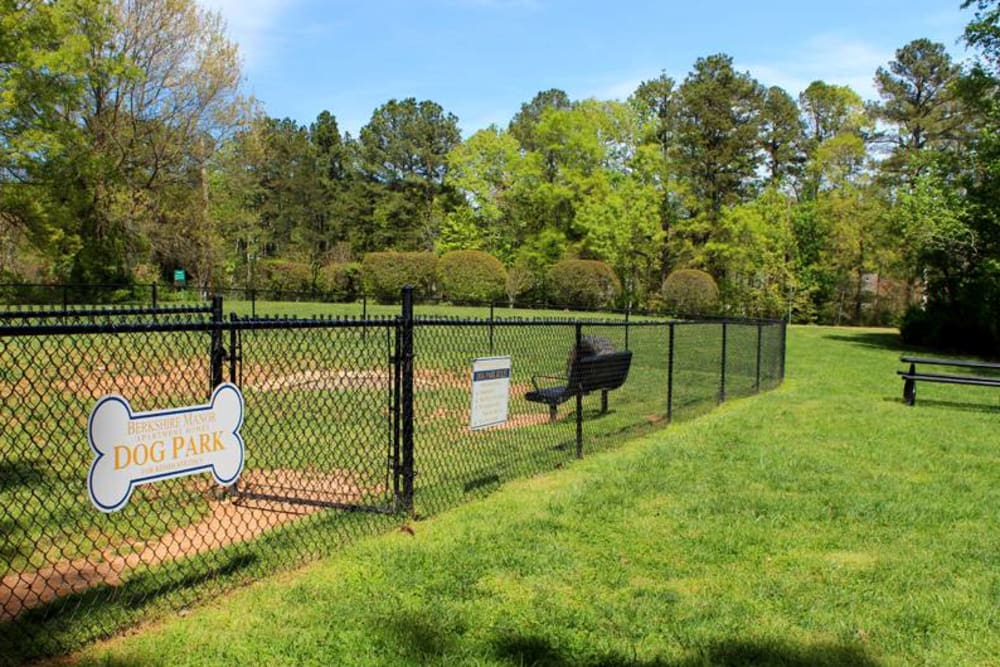 Dog Park for your Furry Friends at Berkshire 54 in Carrboro, North Carolina