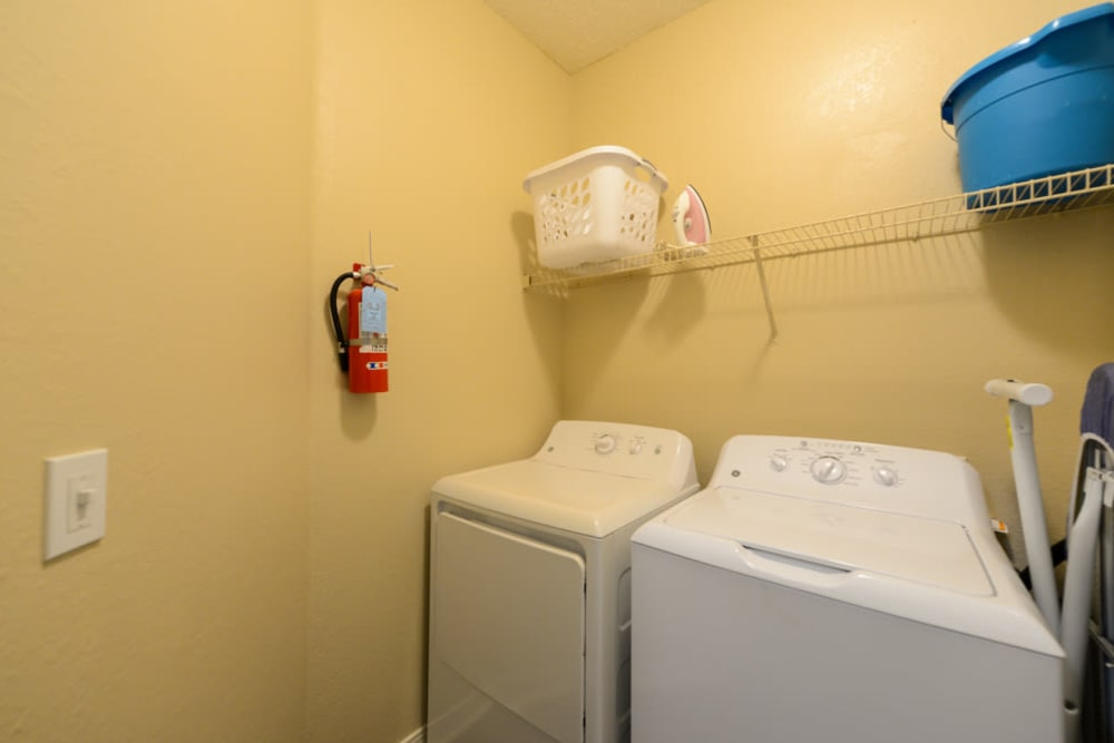 Laundry room at Ocean Park of Ponte Vedra in Jacksonville Beach, FL