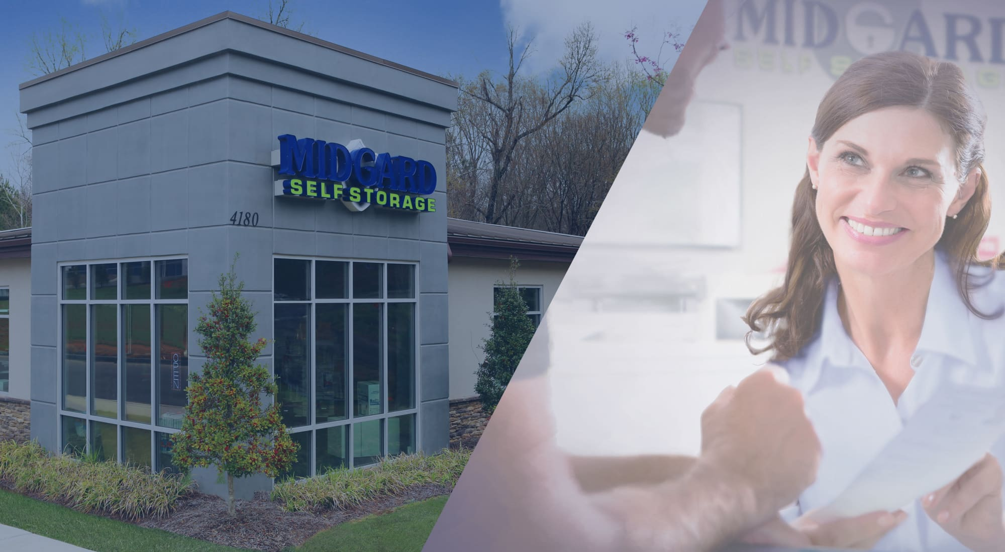 Self storage at Midgard Self Storage in Lake Wylie, South Carolina