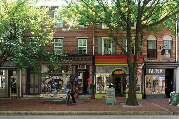 Shops near Waterview Apartments in West Chester, Pennsylvania