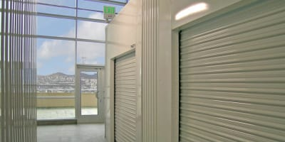 Units at SOMA Self-Storage in San Francisco, California